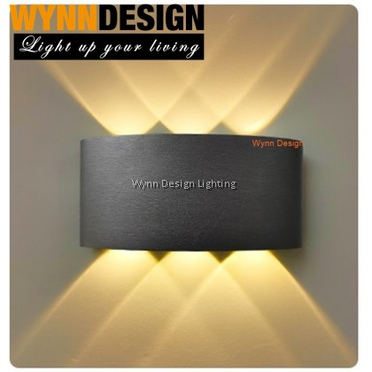 Wynn Design Up Down Outdoor Effect Light Weatherproof Wall Lamp Lampu Dinding(6011 series)